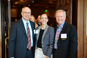 David L. Stover of Noble Energy, Maryann Seaman of FMC Technologies, Inc. and Galen Cobb of Halliburton