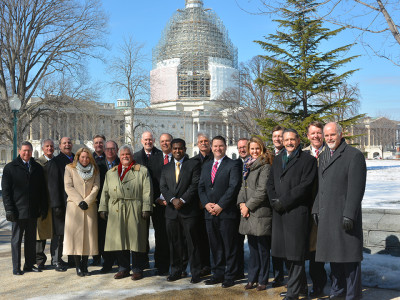 PESA Members at the 2015 Washington, D.C. Fly-In