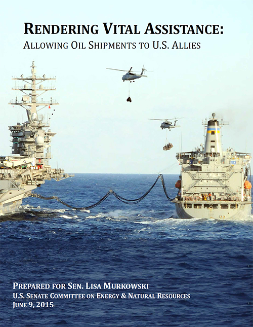 RENDERING VITAL ASSISTANCE: ALLOWING OIL SHIPMENTS TO U.S. ALLIES