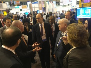 PESA Hosts Middle East Delegation at OTC