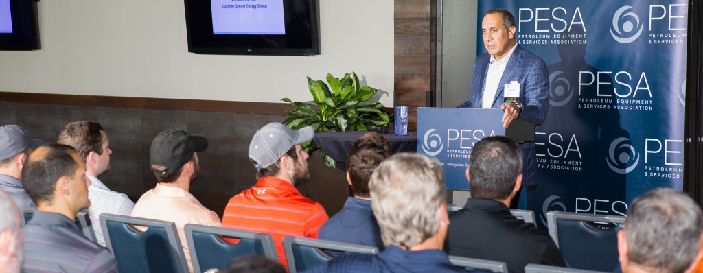PESA Chairman Saeid Rahimian, President & CEO – Energy Group, Gardner Denver