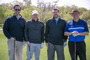 Explorers of Houston Golf Tournament 1st place team: Jon Landes, TechnipFMC; Ernie Leyendecker, Anadarko; Bill Valka, TechnipFMC; Danny Hart, Anadarko