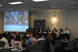 All of the speakers participated in a panel discussion giving the opportunity for continued discussion with attendees. The panel was moderated by PESA Supply Chain Committee Chairman Brad Wise, VP Marketing, DistributionNOW.