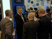 Brazil delegation visits the Baker Hughes Booth at OTC