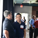 Will Li at the PESA Executive Address at TopGolf