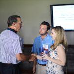 Burk Ellis, Chip Zay and Shannon Cunningham at the PESA Executive Address