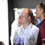 Matt Boerlage and Ronnie Kott at the PESA Executive Address