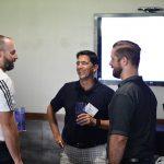 Maxwell Felts, Chris Rios and Joe Murphy at the PESA Executive Address
