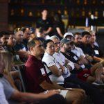PESA members listen to Burk Ellison speak during the 2017 Executive Address