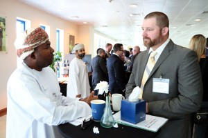 Zahir Al-Wahaibi, Strategic Finance Manager, Petroleum Development Oman, and Clent Rawlinson, VP, Energy Branches, Europe / S. Africa / L. America, DistributionNOW
