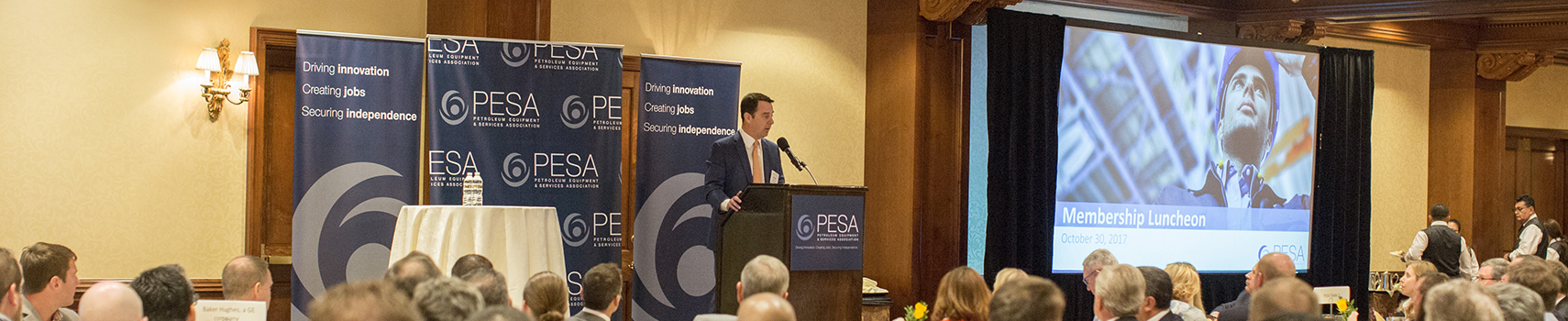 Donald Young, PESA Advisory Board Member and Chairman and CEO of Hoover Ferguson