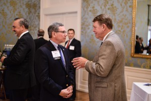 2018 Explorers Reception: Board Member Kevin Crowley, Forged Products, and Tom Moyers, Cameron, A Schlumberger Company