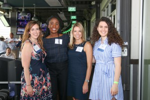 LEFT to RIGHT: Molly Determan, PESA; Pam XX, Rice University; Leslie Beyer, PESA; Tessa Schreiber, RIce University