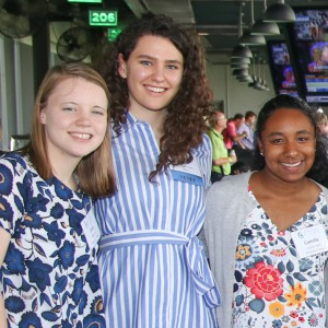 2018 Rice Fellows attended the PESA Executive Address at TopGolf