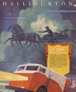 1944 ad celebrating the company's 25th anniversary