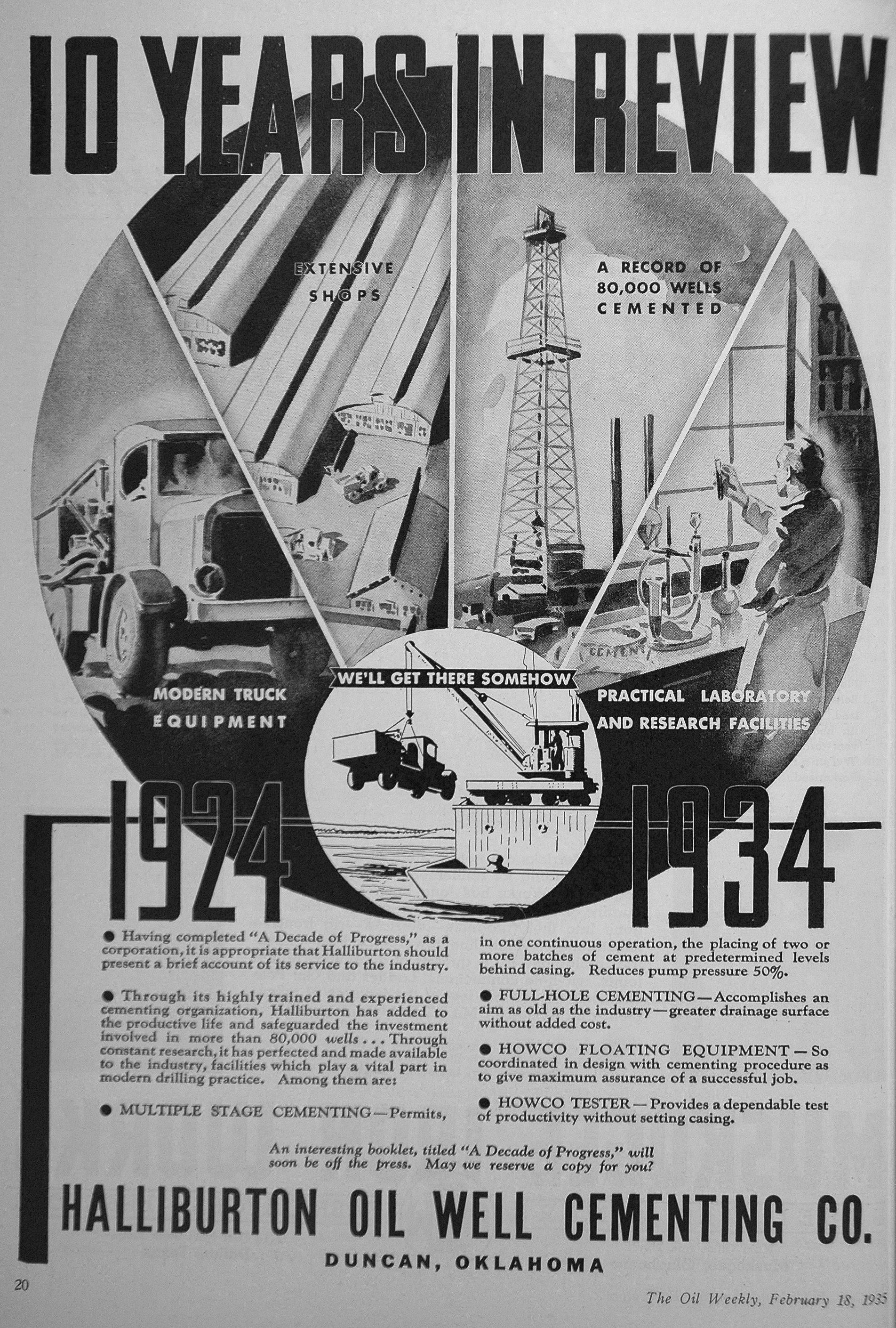 PESA » Member Company Halliburton Celebrates 100th Anniversary