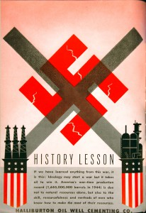 Halliburton WWII Ad