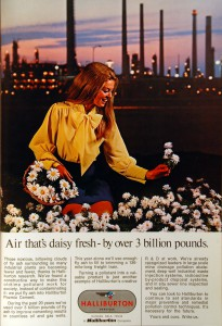 Halliburton 1960s Ad in World Oil