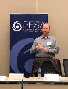 PESA Board of Directors Member Chuck Chauviere, President, Subsea Drilling Systems Oilfield Equipment, Baker Hughes, a GE company.