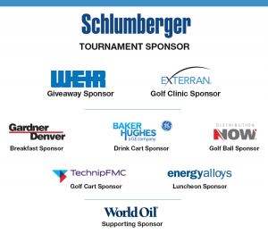 2019 Explorers of Houston Golf Tournament Sponsors