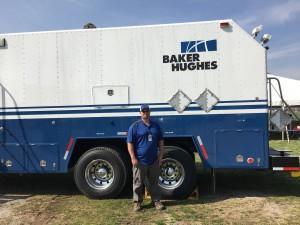Baker Hughes wireline truck