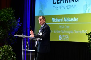 PESA Chair Richard Alabaster, President - Surface Technologies, TechnipFMC
