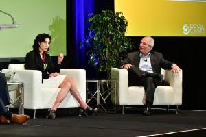 Aimee Blaine, Senior Vice President – Technical, Aera Energy, LLC, and Ken Tubman, Vice President – Technical Innovation, Marathon Oil
