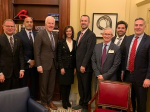PESA Members with Sen. John Cornyn (R-TX).