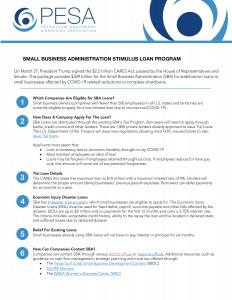 Microsoft Word - PESA SBA Loan Guidance.docx