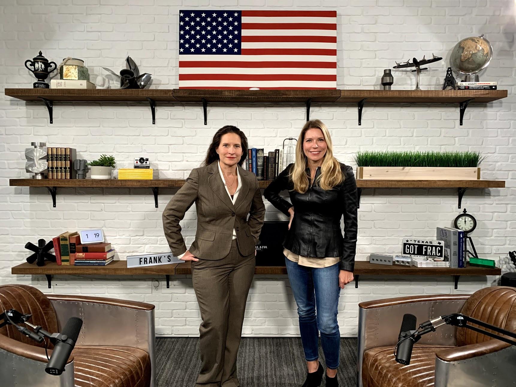 Energy in Transition host Leslie Beyer with Frank's International CFO Melissa Cougle