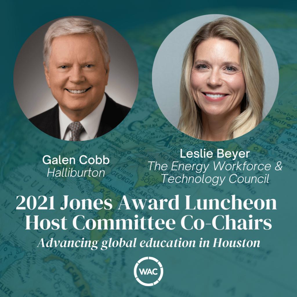 Jones Award Luncheon Co-Chairs
