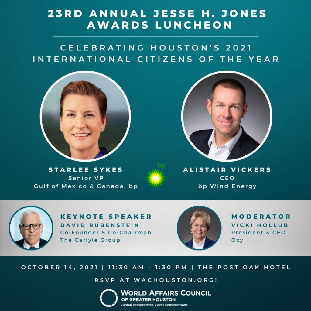 Jones Award Luncheon Honorees